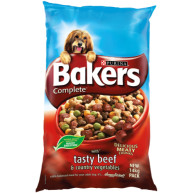 Bakers Complete Beef & Vegetable Adult Dog Food 14kg