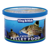 King British Catfish Pellets Fish Food With LHB 200g