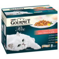 Gourmet Perle Country Styles in Jelly Adult Cat Food 85g x 48
