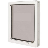 Pet Mate Dog Mate White Dog Door Flap