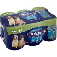 Butchers Choice Recipes in Jelly Dog Food