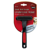 Interpet Small Antittangle Undercoat Rake Dog Grooming Thick Coat