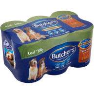 Butchers Original Recipes with Tripe  Dog Food 400g x 6