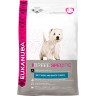 Eukanuba West Highland White Terrier Adult Dog Food 2.5kg