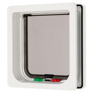 Cat Mate 4 Way Locking Flap & Liner White