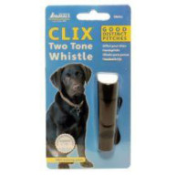 CLIX Training Two Tone Whistle  Small