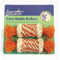 Rosewood Boredom Breaker Corn Rattle Rollers Pack of 2