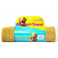 Snugglesafe Big Dog Brown Micro Fibre Towel