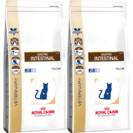 Royal Canin Veterinary Diets Gastro Intestinal GI 32 Cat Food 4kg x 2