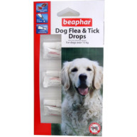 Beaphar Dog Flea and Tick Drops