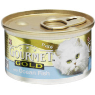 Gourmet Gold Pate Ocean Fish Cat Food 85g x 12
