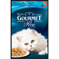 Gourmet Perle Tuna and Shrimp Cat Food 24 x 85g