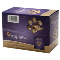 Applaws Chicken & Wild Rice Pouches Adult Cat Food 70g x 12