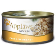 Applaws Chicken Breast Wet Can Adult Cat Food 156g x 24