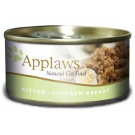 Applaws Chicken Breast Can Kitten Food 70g x 24