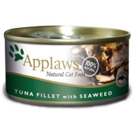Applaws Tuna Fillet & Seaweed Can Adult Cat Food 156g x 24