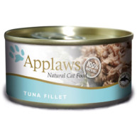 Applaws Tuna Fillet Tin Adult Cat Food 156g x 24