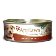 Applaws Chicken Breast Wet Can Adult Dog Food 156g x 12