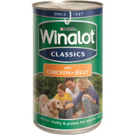 Winalot Classics Chicken In Jelly Tin Dog Food 1.2kg x 6