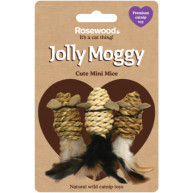 Jolly Moggy Catnip Mini Mice Cat Toy