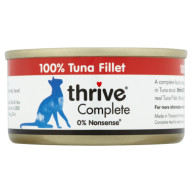 Thrive Complete 100% Tuna Adult Cat Food  75g x 12