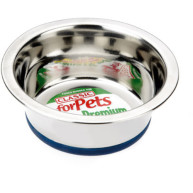 Classic Stainless Steel Non Slip Dog Bowl