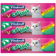 Vitakraft Mini Cat Stick Treats Duck and Rabbit