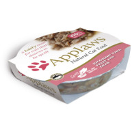 Applaws Tuna & Crab Pot Adult Cat Food 60g x 10