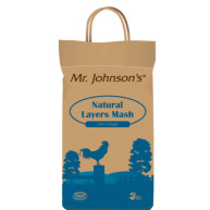 Mr Johnsons Natural Layers Mash Chicken Food 5kg