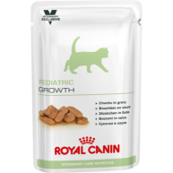 Royal Canin VCN Pediatric Growth Wet Pouches Kitten Food 100g x 48