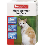 Beaphar Cat Multiwormer 12 Tablets