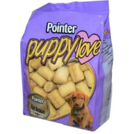 Pointer Puppy Love Dog Biscuits 300g
