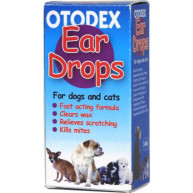 Otodex Ear Drops for Cats and Dogs 14ml