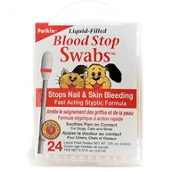 Petkin Blood Stop Swabs For Dogs & Cats 24 swabs