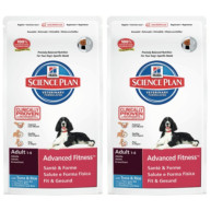 Hills Science Plan Canine Adult Advanced Fitness Medium Tuna 12kg x 2