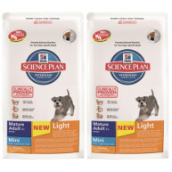 Hills Science Plan Canine Mature 7+ Active Longevity Mini Light