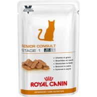Royal Canin VCN Senior Consult Stage 1 Wet Pouches Cat Food 100g x 48