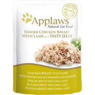Applaws Chicken with Lamb In Jelly Pouch Adult Cat Food 70g x 16