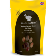 Billy & Margot Venison Marrow Bones Treats for Dogs 300g