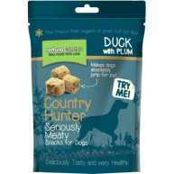 Natures Menu Country Hunter Freeze Dried Dog Treats 50g - Duck