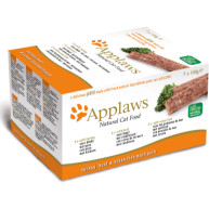 Applaws Pate Turkey Beef & Ocean Fish Multipack Adult Cat Food