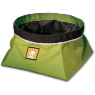 Ruffwear Quencher Travel Bowl Forest Green