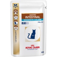Royal Canin Veterinary Gastro Intestinal Mod Calorie Cat Food 100g x12