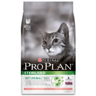 PRO PLAN Sterilised Optirenal Salmon Adult Cat Food 3kg x 3