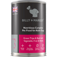 Billy & Margot Beef & Tripe Complete Adult Dog Food