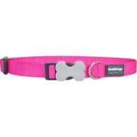 Red Dingo Dog Collar Classic Hot Pink Large