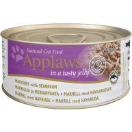 Applaws Mackerel & Seabream in Jelly Can Adult Cat Food