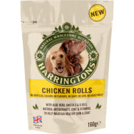Harringtons Dog Chicken Rolls 160g
