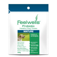 Feelwells Salmon & Rice Healthy Mature Dog Treat  200g
