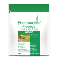 Feelwells Probiotic Super Premium Healthy Adult Dog Treats 200g - Lamb And Rice